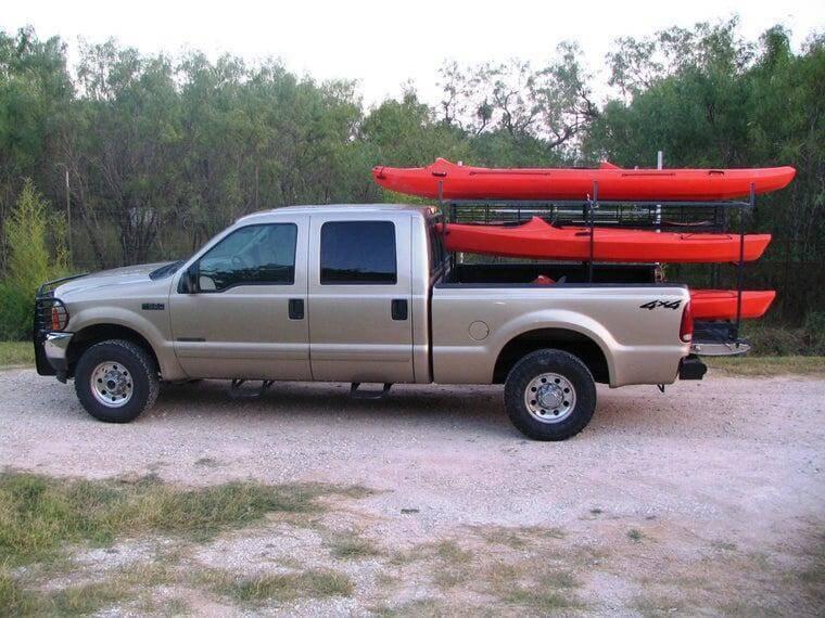 8. DIY Kayak Rack