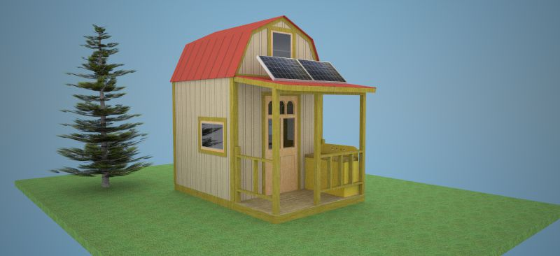 8. DIY Off-Grid Stealth Cabin Plans
