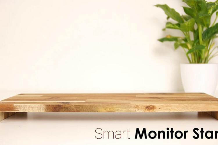 8. DIY Smart Monitor Stand