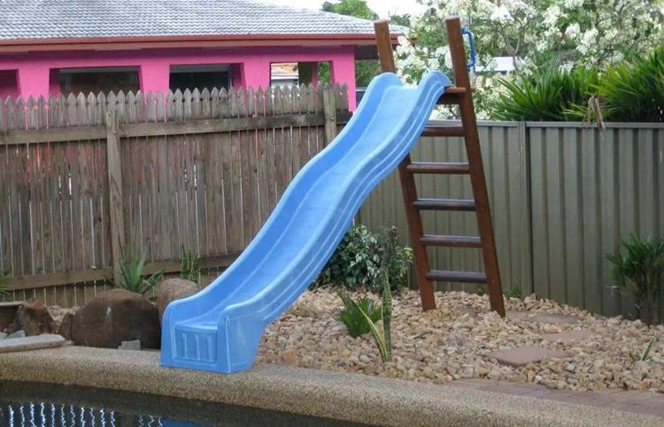 8. How To DIY A Pool Slide