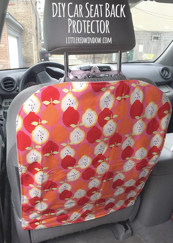 9. DIY Car Seat Protector