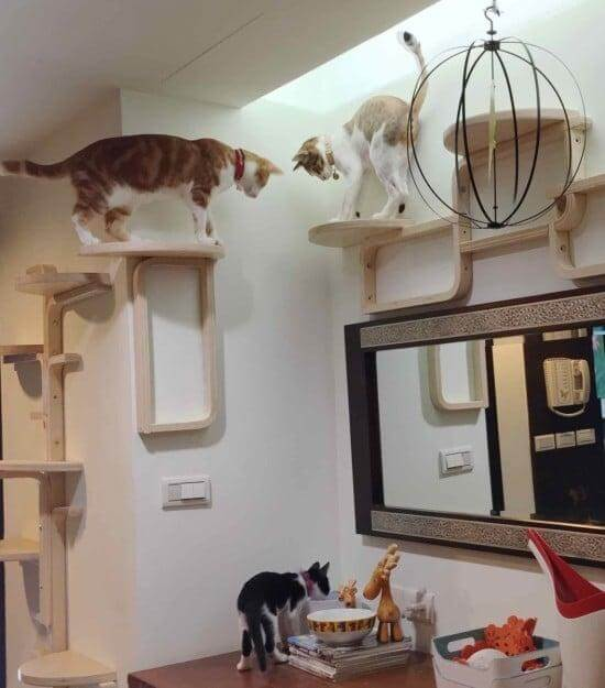 9. DIY Cat Tree IKEA Hack