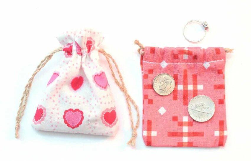 9. DIY Drawstring Bag