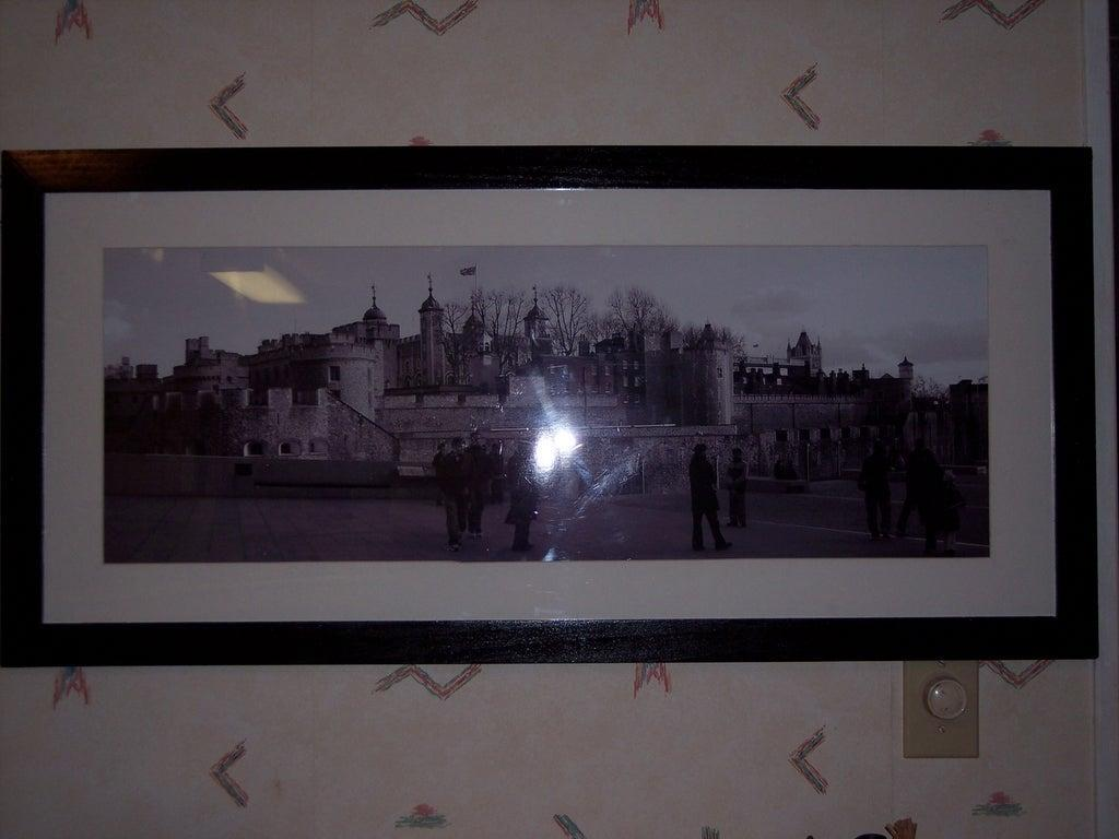 9. Huge DIY Picture Frame