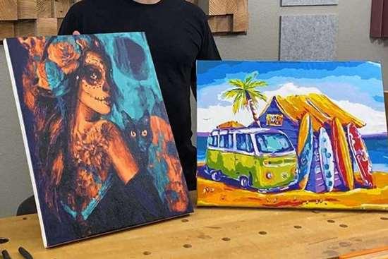 DIY Canvas Frame Ideas