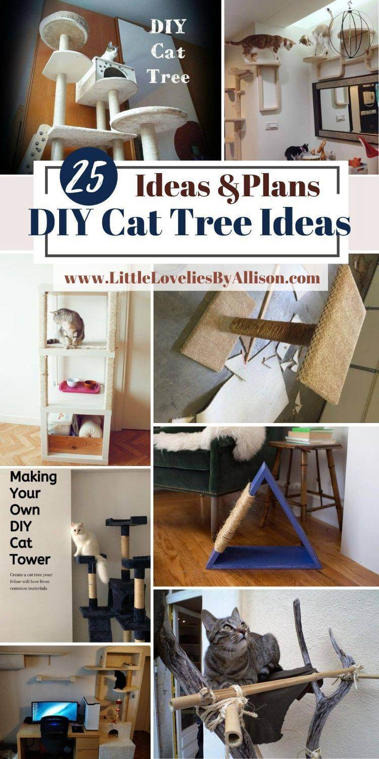 DIY Cat Tree Ideas