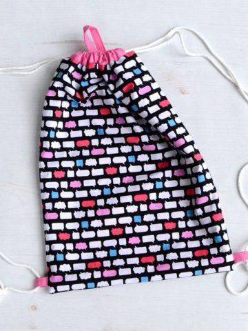 DIY Drawstring Bag Patterns