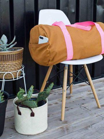 DIY Duffle Bag Ideas