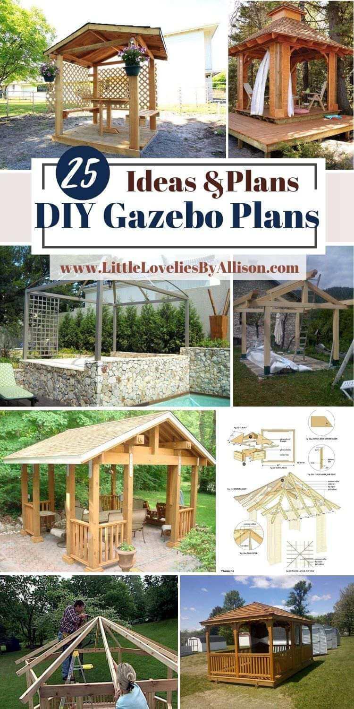 DIY Gazebo Plans