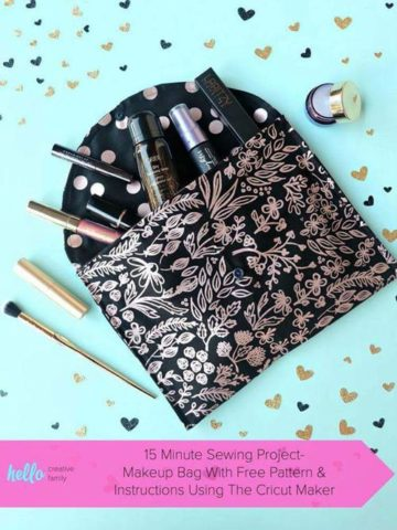 DIY Makeup Bag Ideas