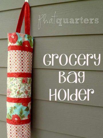 DIY Plastic Bag Holder Ideas