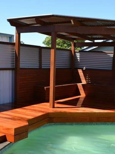 DIY Pool Deck Plans