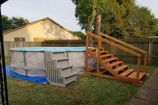 DIY Pool Ladder Projects