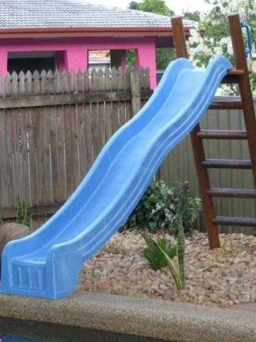 DIY Pool Slide Ideas