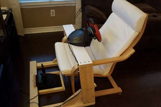 DIY Racing Wheel Stand