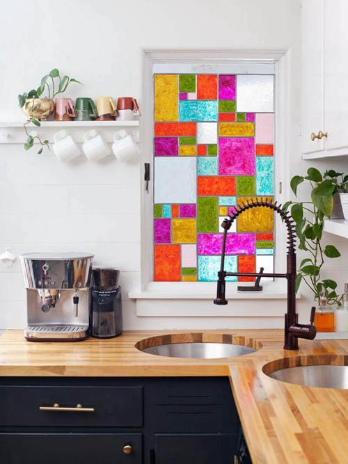 DIY Stained Glass Window Ideas