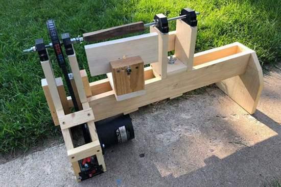 DIY Wood Lathe