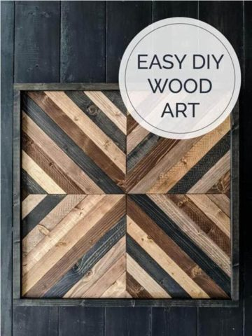 DIY Wood Wall Art Ideas