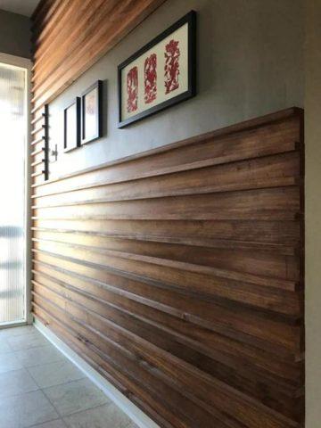 DIY Wood Wall Ideas
