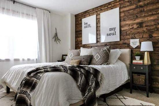 DIY Wood Wall Ideas