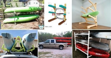 Space-Saving DIY Kayak Rack Plans