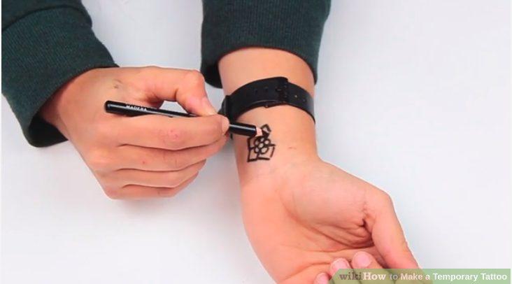1. 4 Ways To Make Temporary Tattoos