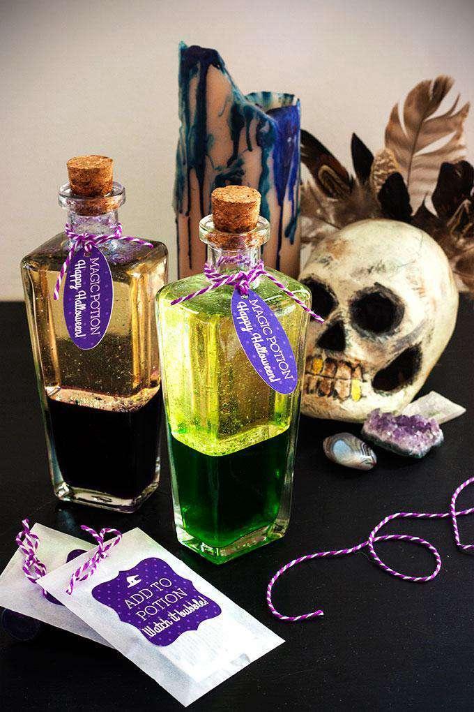 1. DIY Magic Potion Bottles