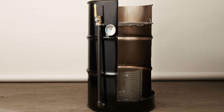 1. DIY Smoker From 55 Gallon Drum