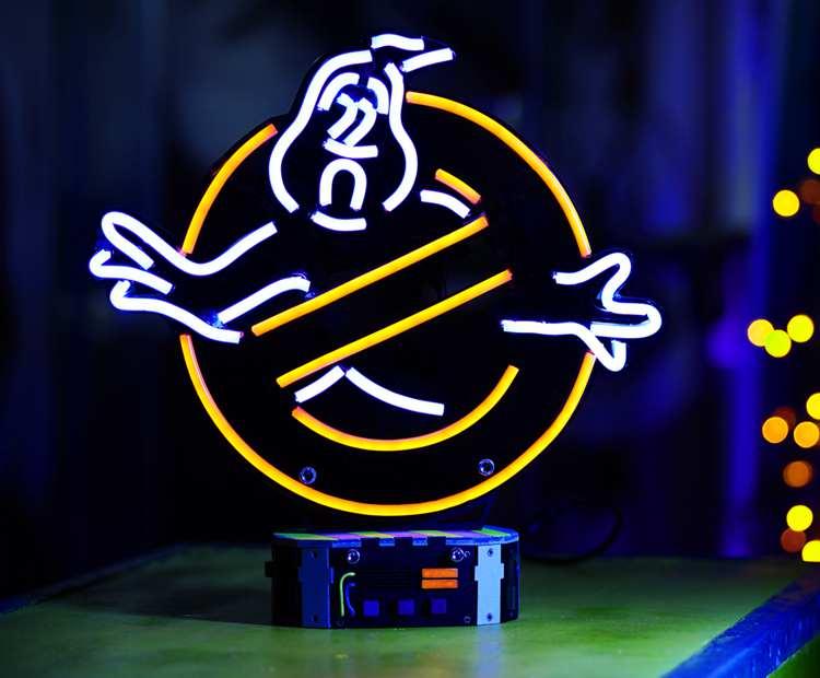 10. DIY Ghostbusters Neon Sign Tutorial