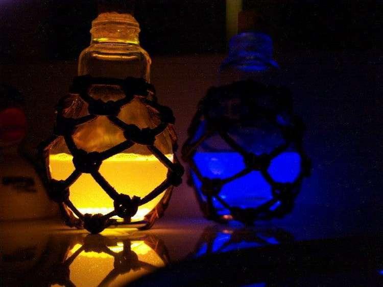 10. DIY Steampunk Potion Bottles
