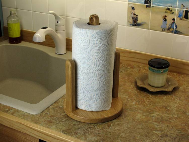 10. How To Make A Paper Towel Holder