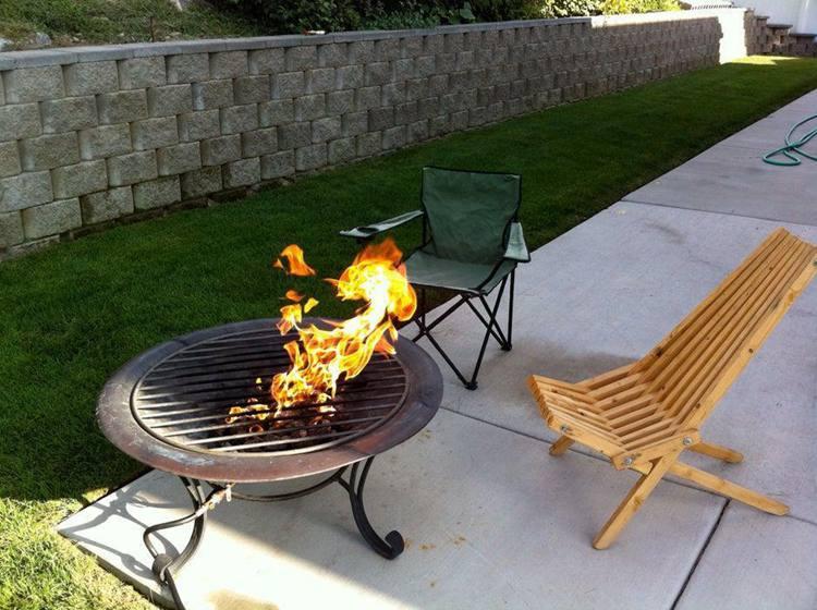 11. DIY Propane Fire Pit