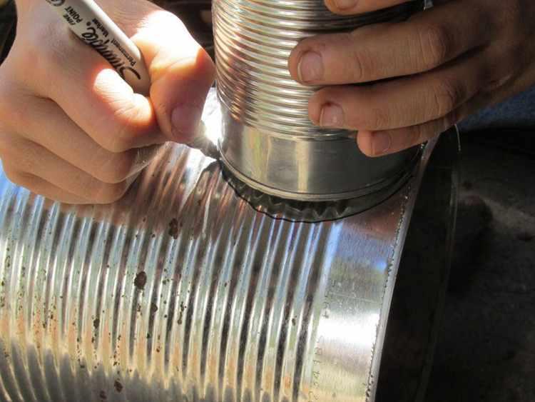 11. DIY Tin Can Meat Smoker