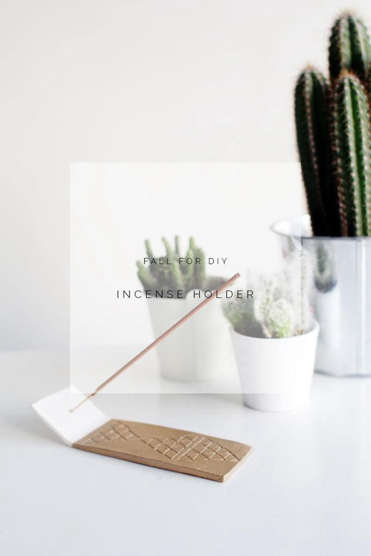 12. How To Make A DIY Incense Holder