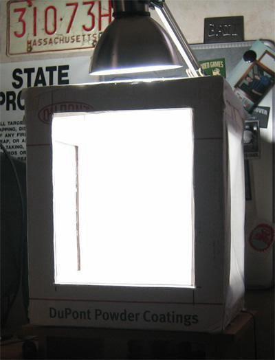 13. DIY Inexpensive Light Tent