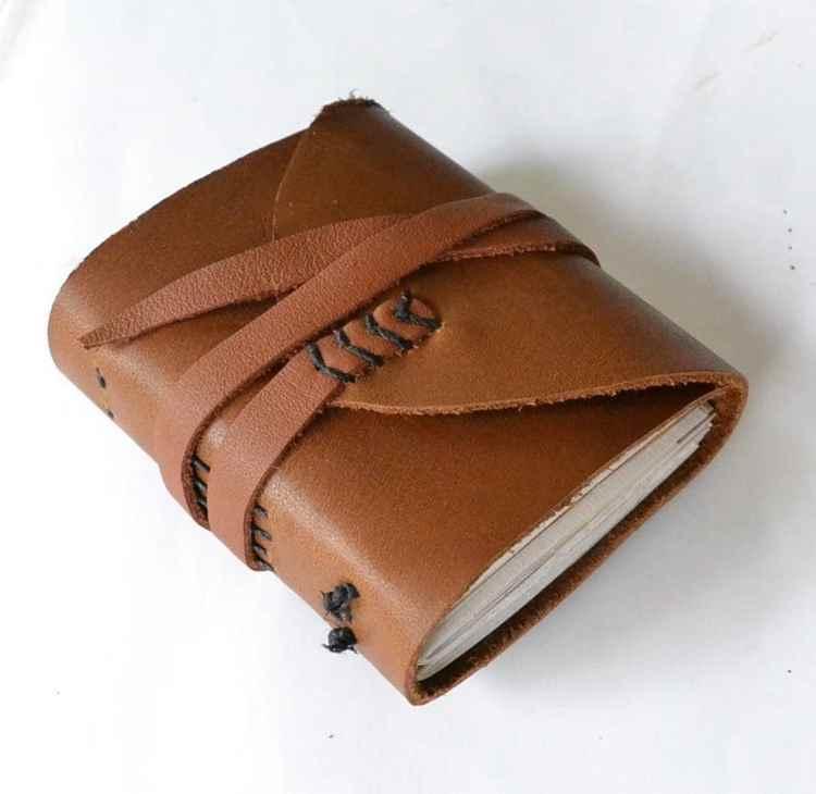 13. DIY Leather Journal