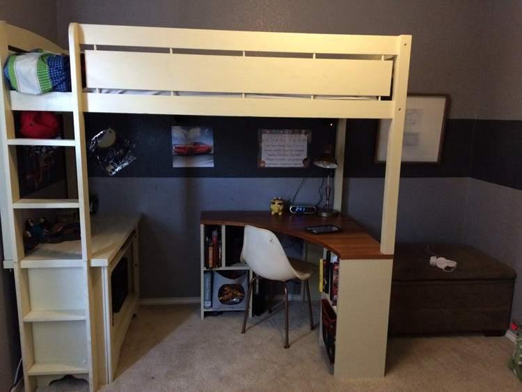 13. DIY Loft Bed