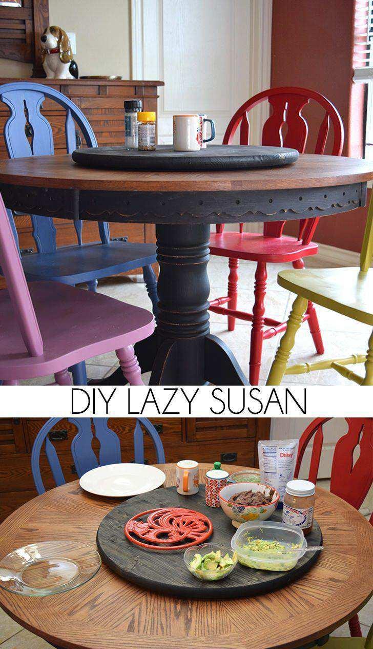 13. Lazy Susan DIY
