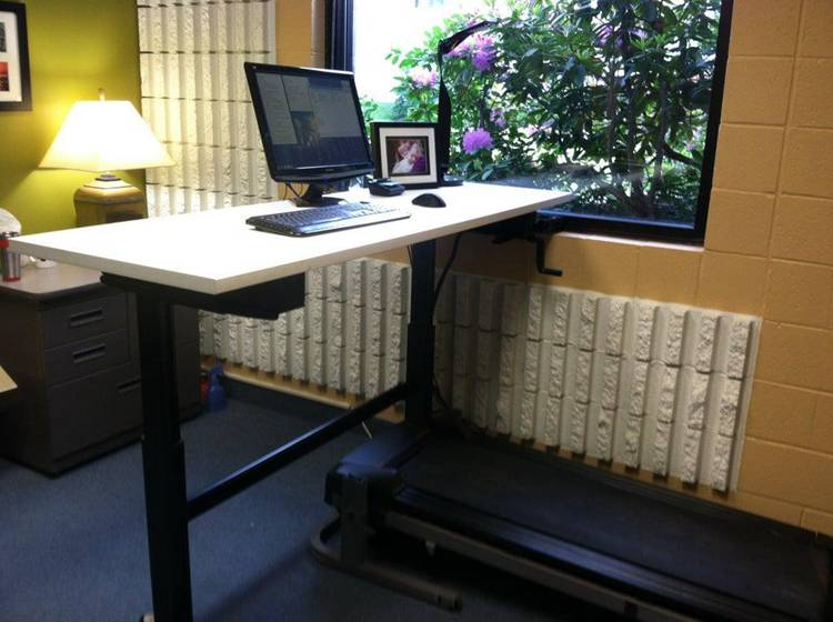 13. Standing and Treadmill Desk DIY