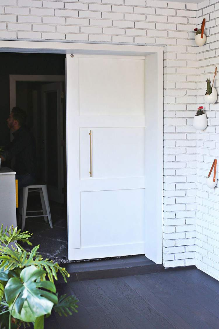 14. DIY Modern Barn Door