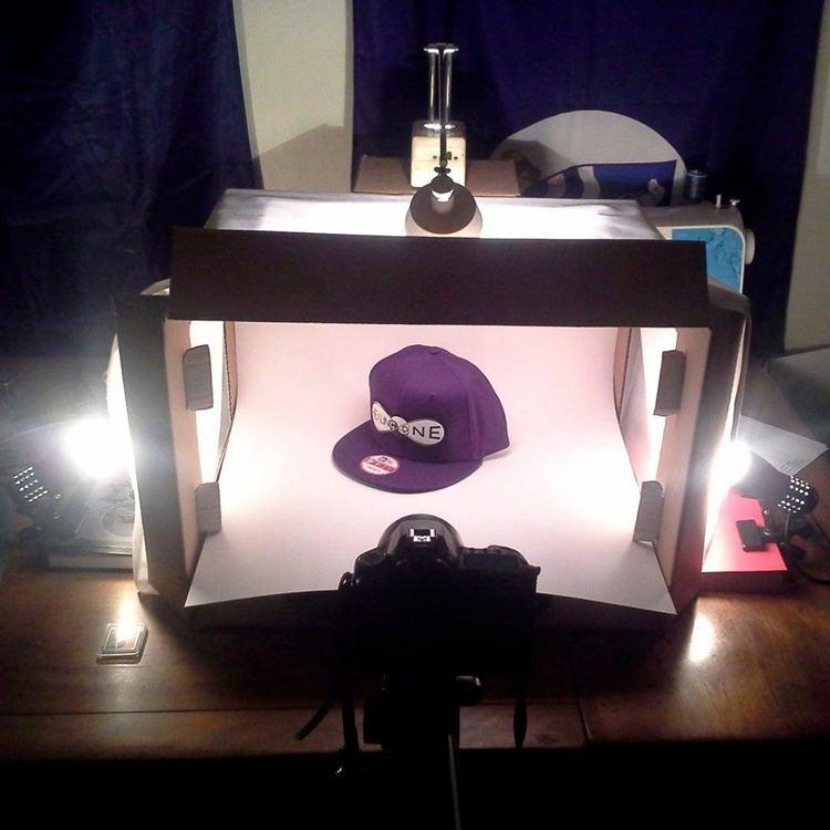 14. DIY Photography Light Box
