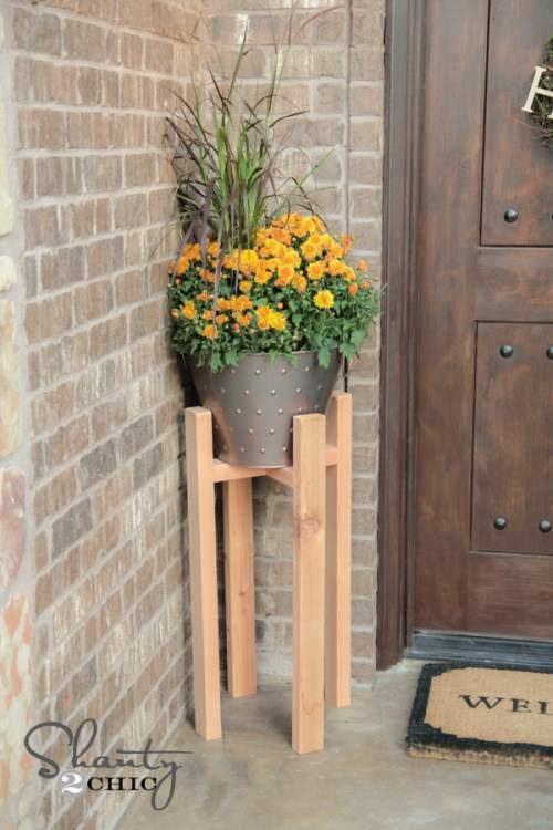 14. DIY Plant Stand