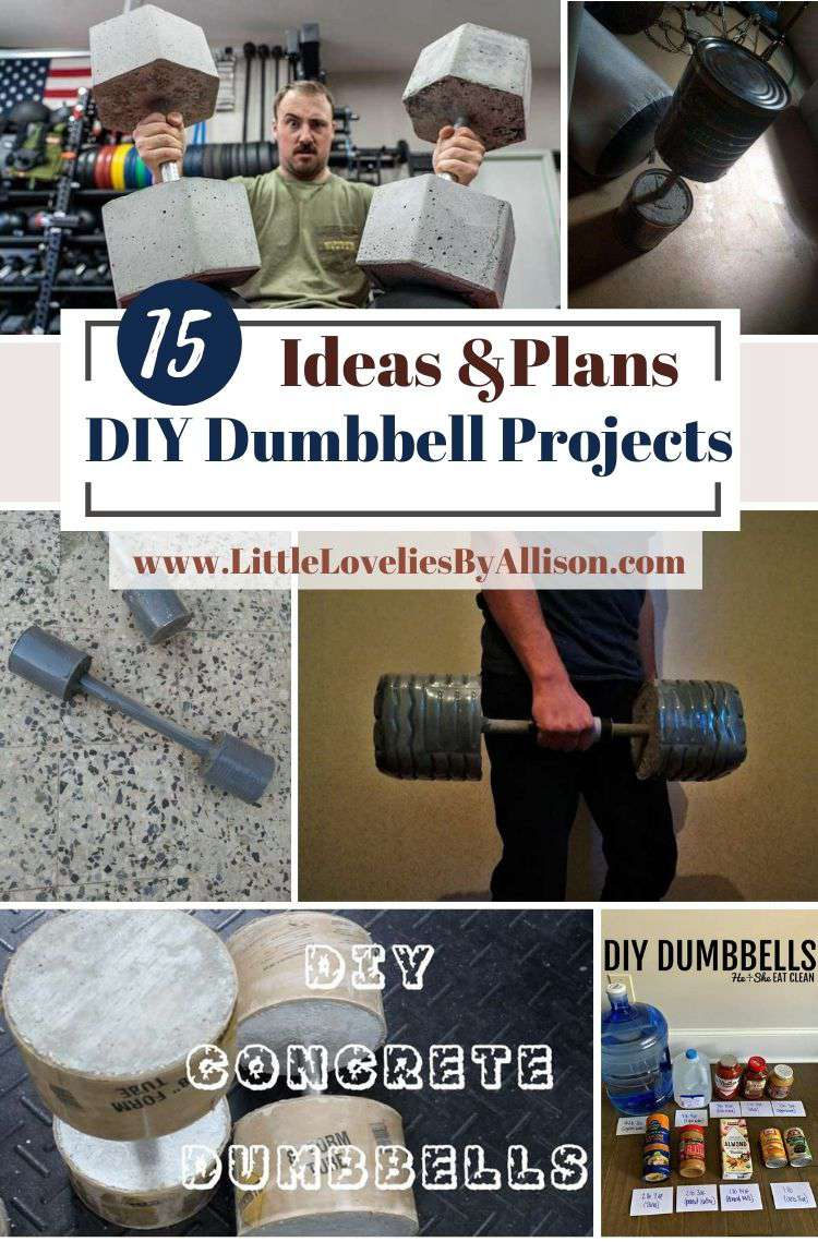 15 DIY Dumbbell Projects_ Homemade Dumbbell Tutorial