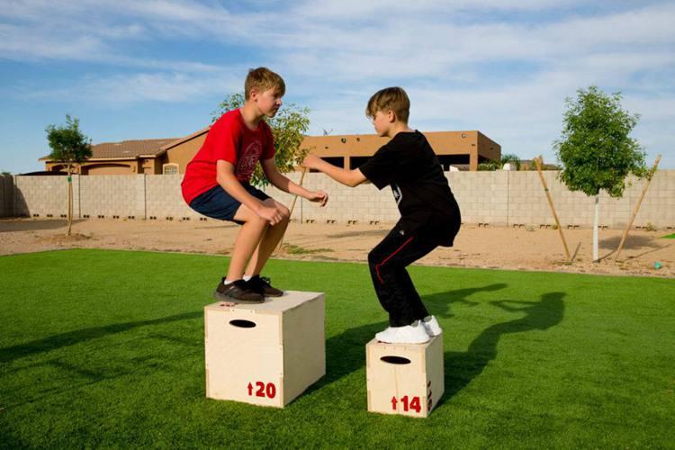 15. DIY Plyometric Boxes