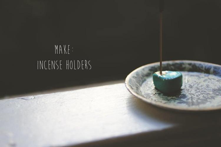 15. Easy Incense Holder