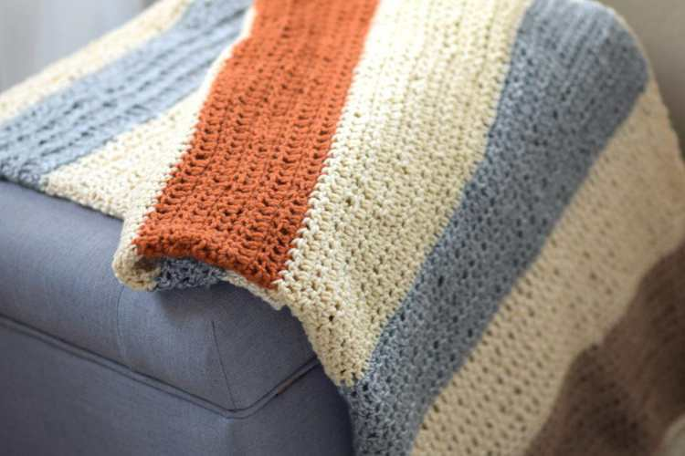 15. How To Crochet A Fall Throw Blanket