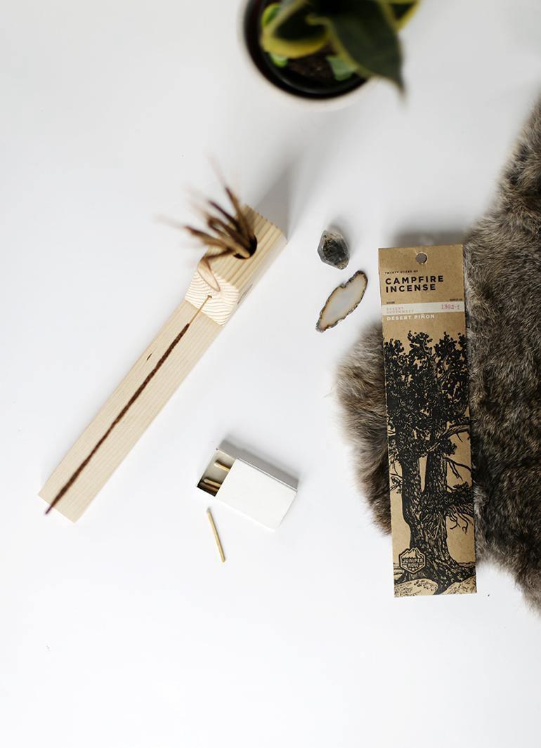 16. DIY Incense Holder