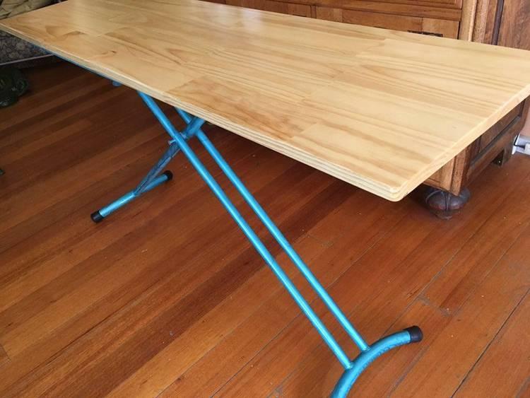 16. DIY Portable Height Adjustable Desk