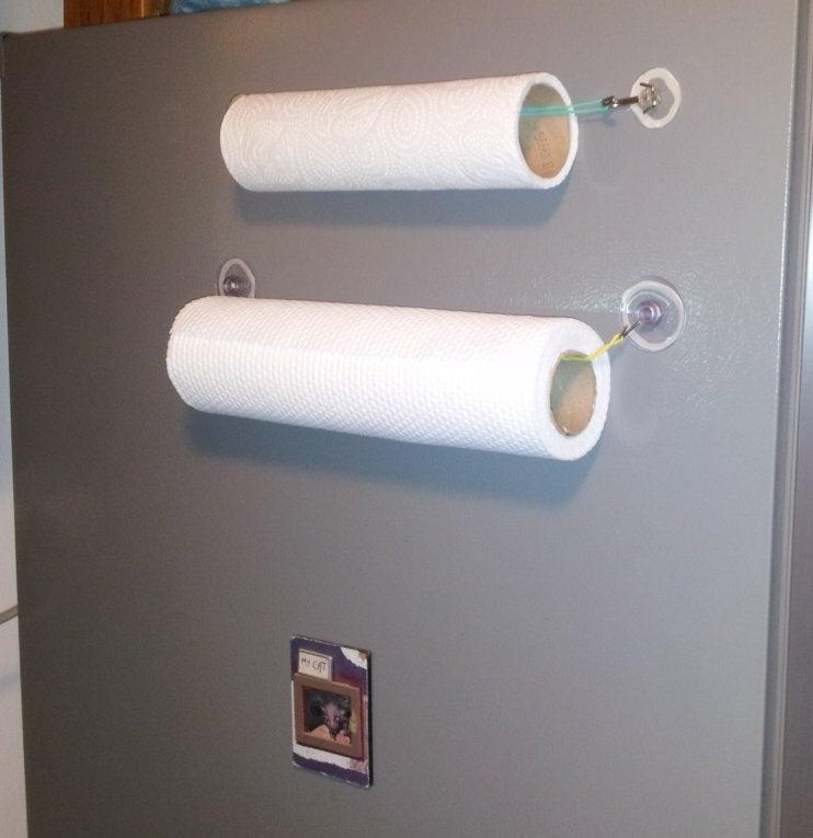 17. How To Make A Paper Towel Holder