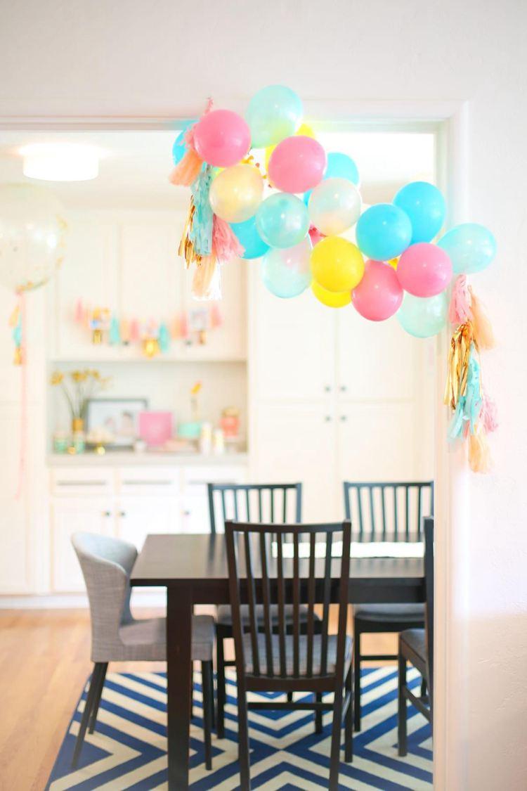 18. Making A Balloon Garland